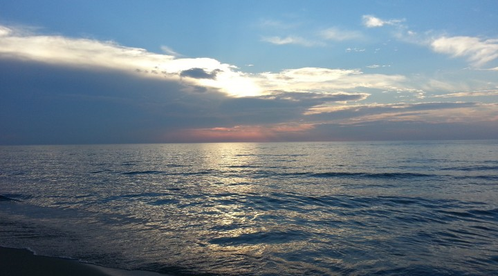 Lake Michigan Near South Haven Michigann
