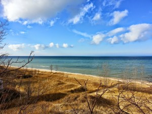 Remember December Winter on Lake Michigan Near South Haven Michigan