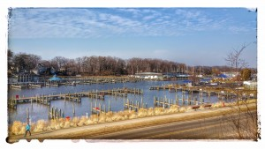 Spring Begins on the Black River in South Haven Michigan