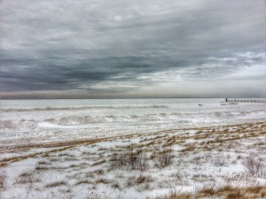 South Haven Michigan Lake Michigan Winter