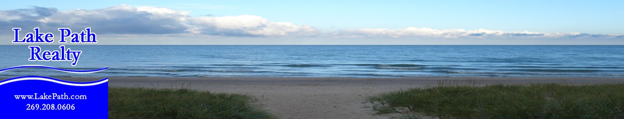 Lakefront waterfront real estate realtors cottages homes sites property near South Haven MI St Joseph MI Lake Michigan New Buffalo MI Saugatuck MI Douglas MI Coloma MI Watervliet MI Paw Paw Lake Southwest Michigan