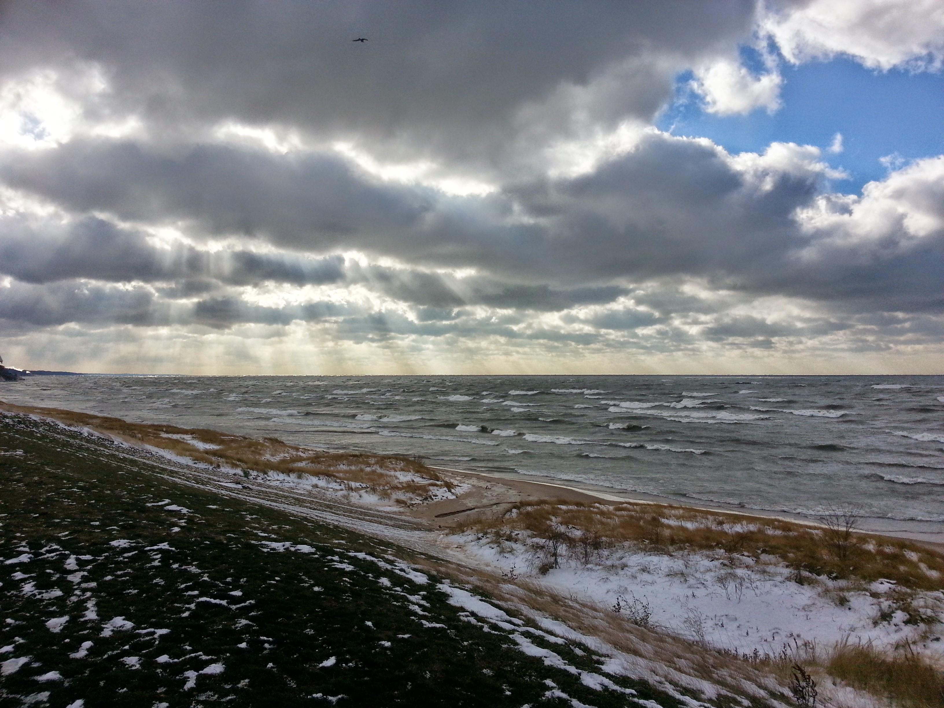 Lake Effect Snow in Southwest Michigan