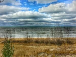 Lake Michigan Near South Haven Michigan St Joseph Michigan