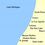 Lakefront real estate listings in lakefront communities along Lake Michigan in Southwest Michigan