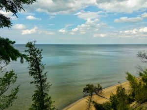 View of Lake Michigan Lake Michigan Lakefront Site Real Estate For Sale Southwest Michigan St Joseph Benton Harbor Coloma South Haven Michigan